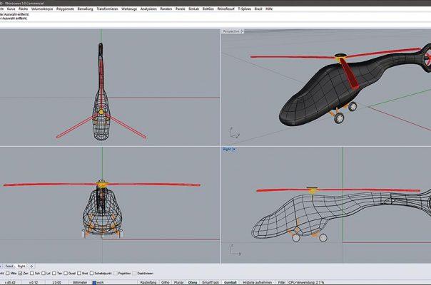 Verarbeitung jegliche CAD-Daten.